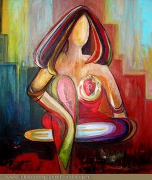 Coloured Lady